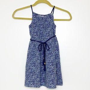 Tommy Bahama girls linen blend tank dress